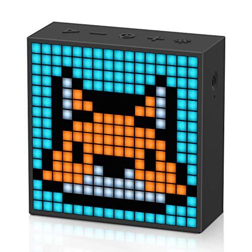 Divoom Timebox evo Pixel Art - Altavoz Bluetooth LED con...