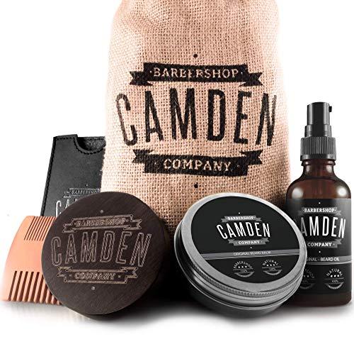 CAMDEN Kit para el cuidado de la barba ● Set de regalo...