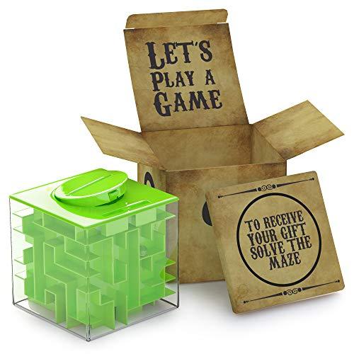 AGREATLIFE Caja Money Maze Laberinto De Dinero | Cubo Puzzle...
