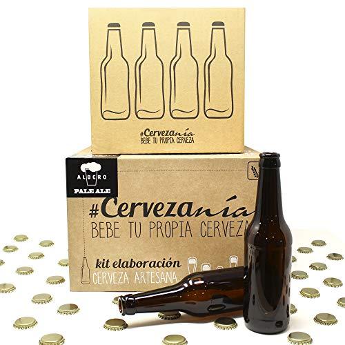Pack completo para elaborar cerveza en casa | Kit Pale Ale y...