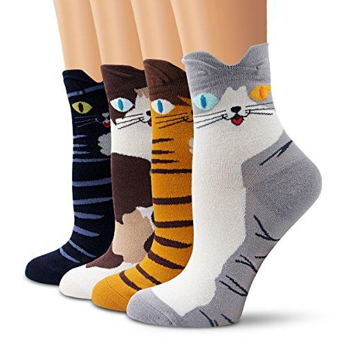 Ambielly calcetines de algodón calcetines térmicos Adulto...