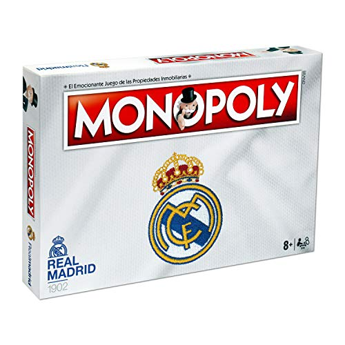 Winning Moves Monopoly Real Madrid Cf (63324), multicolor...