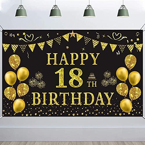 Fondo de Fiesta de Cumpleaños, TUOCO 18 Cumpleaños...