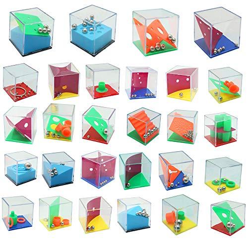 THE TWIDDLERS Set de 28 Mini Juegos Rompecabezas - Puzzle...