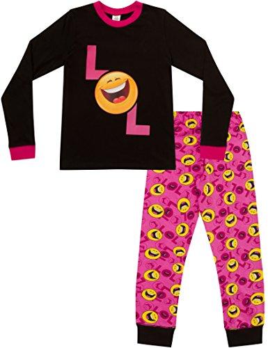Pijama para niñas con LOL Laugh Out Loud, estilo emoticón,...
