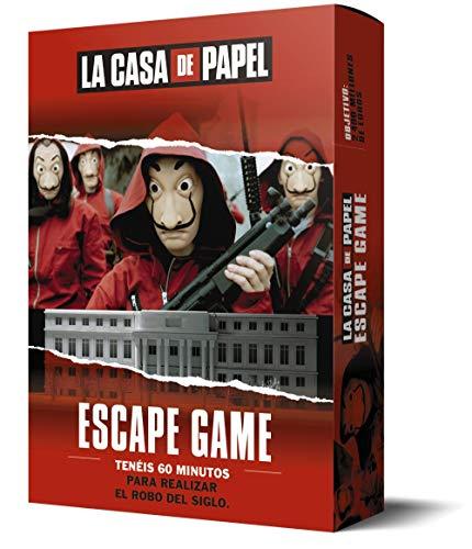 LA CASA DE PAPEL. Escape game (LAROUSSE - Libros Ilustrados/...