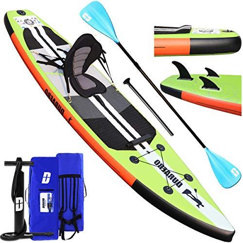 Tabla Hinchable Paddle Surf Sup Paddel Surf Bomba, Asiento...