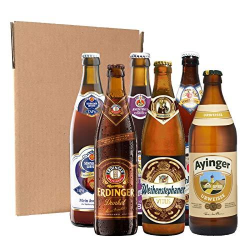 Pack degustación de cervezas alemanas (6 botellines de 50...