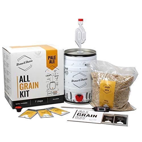 BNKR BEER Brew&Share   Kit para Hacer Cerveza Pale Ale   Tu...