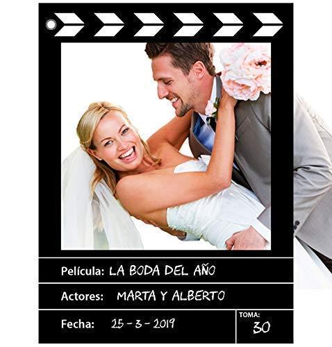Marco photocall personalizado estilo CINE. Impreso en...