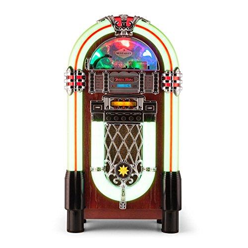 AUNA Graceland XXL Jukebox Vintage - Bluetooth , Reproductor...