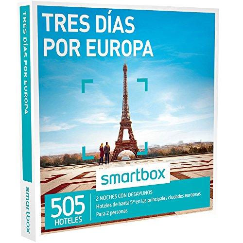 SMARTBOX - Caja Regalo - TRES DÍAS POR EUROPA - 520 hoteles...