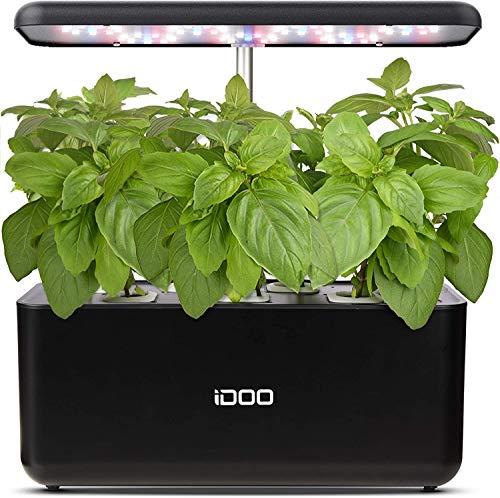 iDoo Sistema de Cultivo hidropónico, Jardinera de Interior...