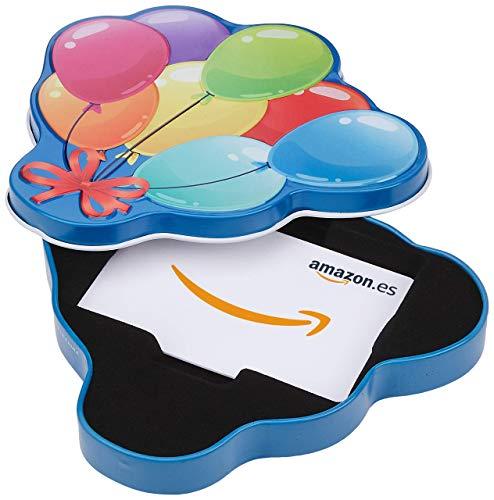Tarjeta Regalo Amazon.es - Estuche Globos de cumpleaños