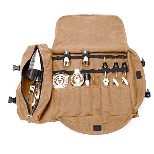 QEES - GJB309 - Kit de barman, bolsa de transporte, grande,...