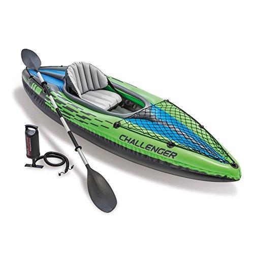 Intex 68305NP - Kayak hinchable Challenger K1 con un remo...