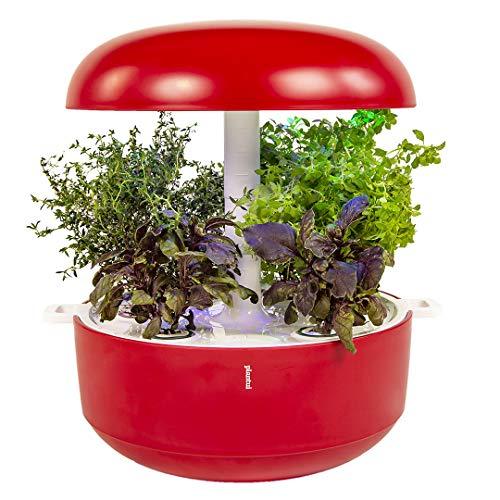 Plantui SG6-R Smart Garden, rojo, 29 x 29 x 37 cm