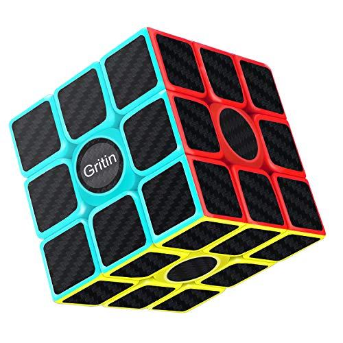 Gritin Cubo Mágico, Cubo de Velocidad 3x3x3 Puzzle...