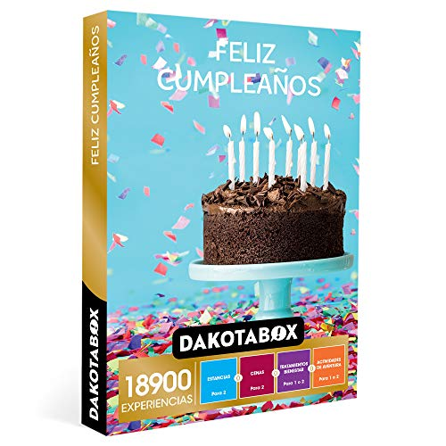 DAKOTABOX - Caja Regalo hombre mujer pareja idea de regalo -...