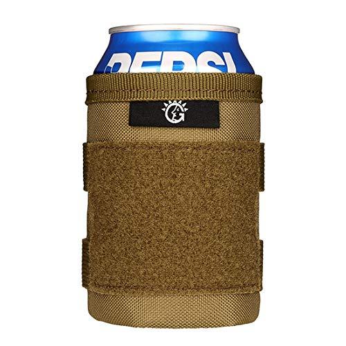 BAIGIO Fundas para latas Cerveza Tacticas Funda de Botella...
