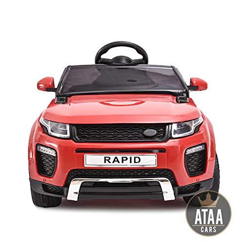 ATAA Coche eléctrico para niños con Mando Range Rapid 12v...