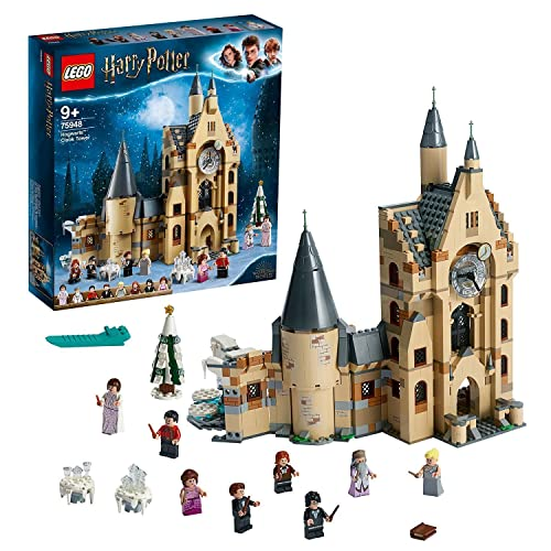 LEGO 75948 Harry Potter Torre del Reloj de Hogwarts, Juguete...