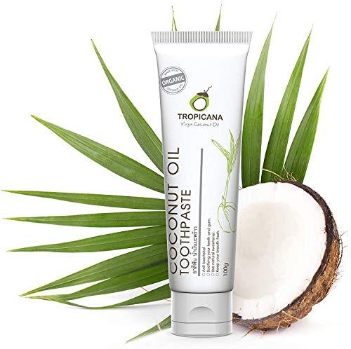 Tropicana Oil Pasta de Dientes Natural con Aceite de Coco...