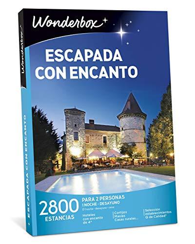 WONDERBOX Caja Regalo -ESCAPADA con Encanto- 2.800 estancias...
