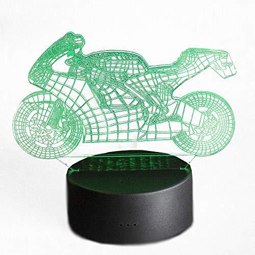 PAIDE 3D Lámpara de decoración 3D - Cambia de color con...