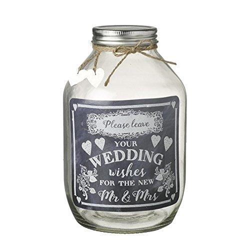 Puesto de jarra de deseo–recuerdo de regalo de boda Mr...