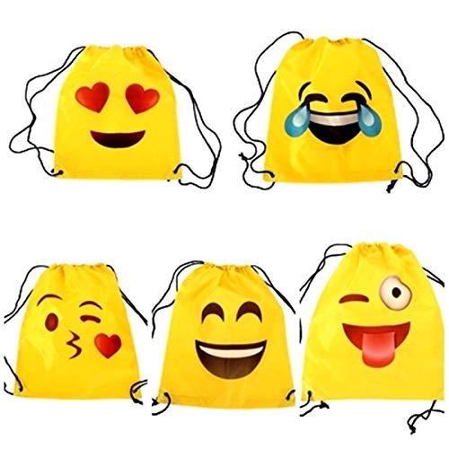 Lote de 20 Mochilas Petate Emoticonos - Mochilas Escolares,...