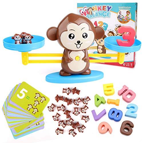 BBLIKE Juguete de Matemáticas, 65 PCS Monkey Balance...