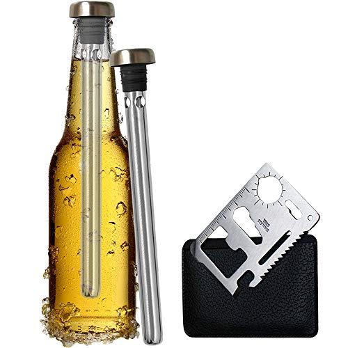 Original Regalo 2 Enfriadores de Botella Cerveza y Abridor...