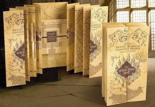 Harry Potter Réplica Mapa del Merodeador, multicolor...