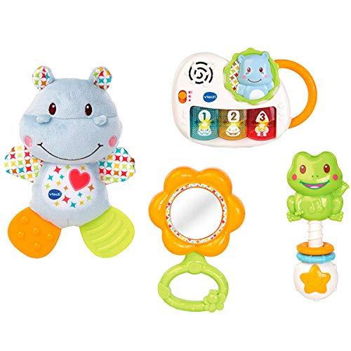 VTech - Canastilla de juguetes, estuche de regalo para bebé...