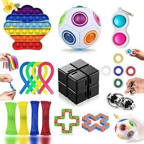 20 Piezas Fidget Toy Pack Barato, Pack Fidget Toys con...