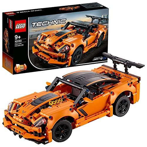 LEGO 42093 Technic Chevrolet Corvette ZR 1 Modelo de Coche...
