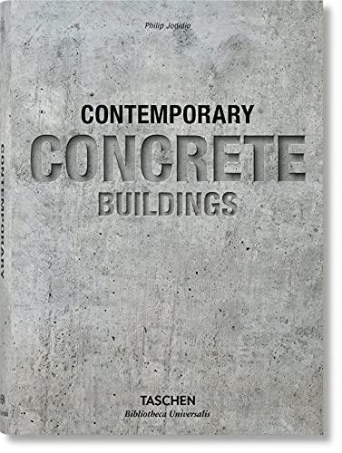 Edificios de hormigón contemporáneos