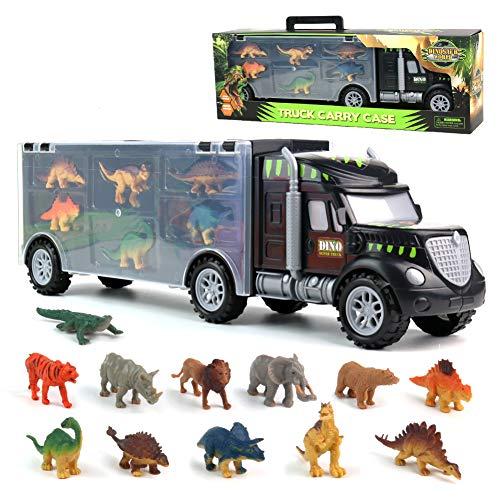 Dinosaurio del Juguete Camión de Transporte Transportador...