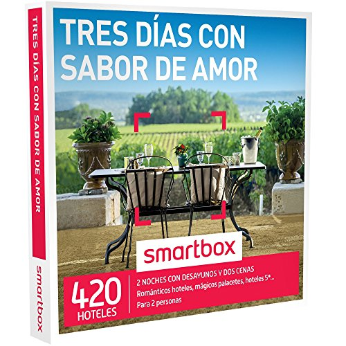Smartbox Tres días con Sabor de Amor Caja Regalo, Adultos...