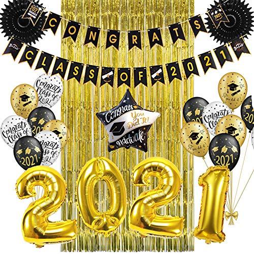 SUNBEAUTY Fiesta de Graduación 2021 Decoración 25 Piezas,...