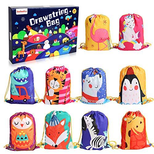 BeebeeRun 10Pack Bolsas de Cuerdas para Infantil,Mochila con...