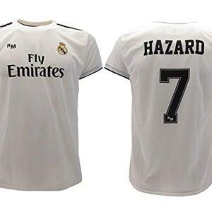 Real Madrid Camiseta de Futbol Replica Oficial con Licencia Hazard